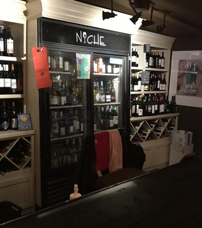 Niche's wine selection